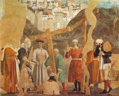 Finding of the True Cross by @artistfrancesca #earlyrenaissance