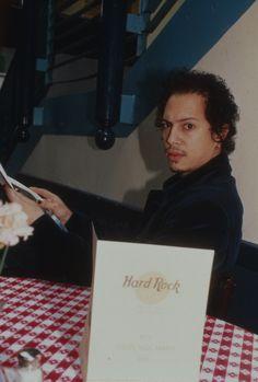 Kirk Hammett from Metallica at Hard Rock Cafe. Wonder what he ordered? #hardrock
