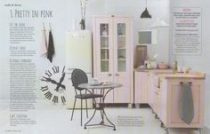 Ideas Magazine used our Swedish Style Units in 3 double page spreads to show how one kitchen can be rearranged in 3 different ways.