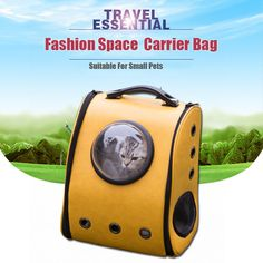 Cheap pet cat carrier, Buy Quality dog carrier directly from China pet carrier Suppliers: Space Cabin Pet Carrier Breathable pet Cat Carrier backpack pet dog Outdoor portable Package bag cat bags Pet Travel Dog Carrier