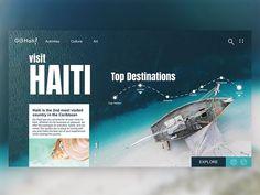 Travel Brochure Design, Travel Website Design, Website Design Layout, Web Layout, Best Ui Design, Page Design, Flat Design, Website Design Inspiration, Modern Website