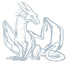 doodle of Starflight, from Wings of Fire tips wings Here Be Dragons Animal Sketches, Art Drawings Sketches, Animal Drawings, Doodle Drawings, Fire Drawing, Drawing Base, Dragon Poses, Dragon Anatomy, Dragon Sketch