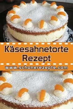 Käsesahnetorte Rezept – Schnelle und Einfache Rezepte Cheese Cream Cake Recipe – Super delicious and totally simple recipe. Quick and easy cake recipes # Cheese cream pie recipe Sugar Cookie Recipe Easy, Peanut Butter Cookie Recipe, Easy Cookie Recipes, Cake Recipes, Butter Chocolate Chip Cookies, Chocolate Cookie Recipes, Oreo Desserts, Birthday Desserts, Chocolate Frosting
