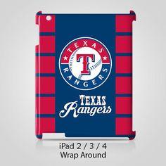 Texas Rangers iPad 2 3 4 Case Cover