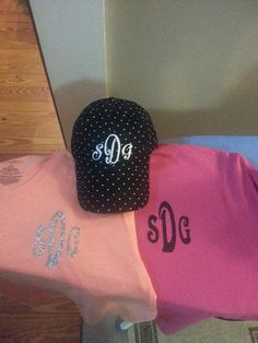 My shirt and hat