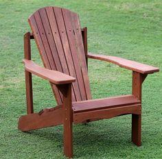 Furinno Classic Style Tioman Tan Teak Hardwood Adirondack Patio Chair Furniture  #furnniture #chair #patio #poolside #home