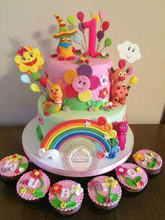 Baby tv cake <3