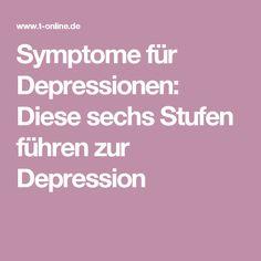 Symptome für Depressionen: Diese sechs Stufen führen zur Depression