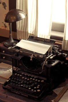 I know that they're clunky and difficult, but I've always wanted an old typewriter.