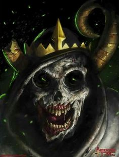 Adventure Time - Lich Cartoon or not, I find the rich really scary, even though I am old enough to stop being afraid of cartoon characters O_O