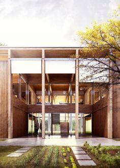 Nuova Scuola dell'infanzia a Molino Nuovo   Lopes Brenna Architetti Location: Lugano, Switzerland