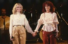 ABBA Anna and Frida The Dick Cavett Show in USA 1981