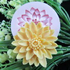 Delicate Flower Fondant Mold Resin Flower Mold Flower by hahaDIY, $6.39