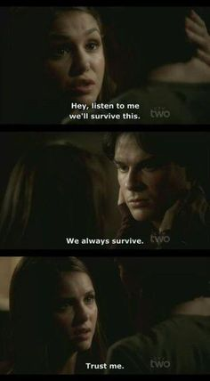 #delena will always survive one way or another