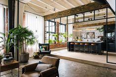Un loft de style industriel dans le Firestone Building - PLANETE DECO a homes world