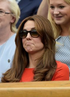 GALLERY: Kate makes funny faces at Wimbledon | Royalista