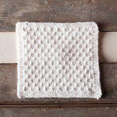Free spa dishcloth knitting pattern