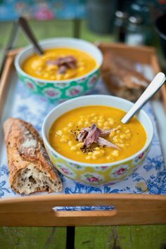 Ham hock and barley soup - This hearty and rustic soup recipe is best served with a crusty farmhouse loaf.