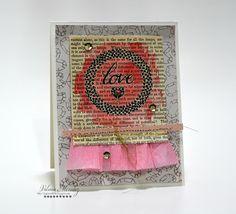Tarjetas de San Valentín usando Rub-on Transfers