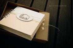 photo album in a box