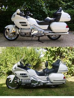 moto achetée tout de suite modifiiée