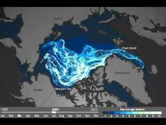 Time-Lapse Video Shows How Quickly Older Arctic Sea Ice Is Disappearing