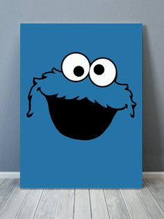 Cookie Monster Pop Canvas Art Artzee Designs creates a unique modern Sesame Street-inspired art collection. Disney Canvas Paintings, Disney Canvas Art, Simple Canvas Paintings, Easy Canvas Art, Small Canvas Art, Cute Paintings, Mini Canvas Art, Easy Canvas Painting, Diy Canvas