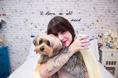 Melina Souza - Serendipity <3  Spock <3  http://melinasouza.com/2015/07/29/minhas-15-sensacoes-favoritas/  Pet - Yorkshire Terrier
