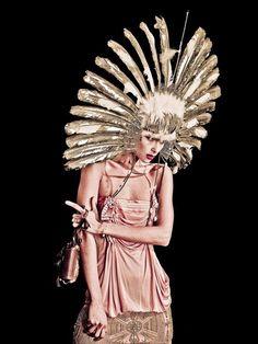 seaborder:      John Galliano for Christian Dior Fall Winter 2002 Haute Couture  Photographer: Simon Procter