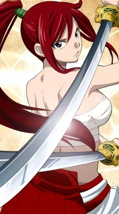 My favorite character of Fairy Tail: Erza Scarlett or Titania the Fairy Queen