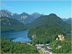 Fotografía: Marcela Villarino  Füssen Bayern Munich, Elba, Beautiful Scenery, Bavaria, The Good Place, Planets, Paradise, Castle, Germany