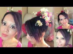 Geisha no Halloween   Tutorial Make & Hair - YouTube