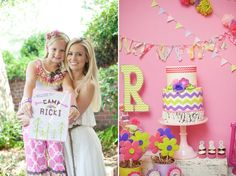 Girly Glamping Birthday Party for Bacheolorette's daughter via Kara's Party Ideas- www.KarasPartyIdeas.com