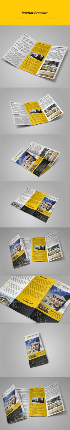 Tri-fold. This is a modern and powerful template for a Tri-fold. Perfect for business promotion.Features Fully Layered PSD files U