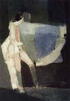 Nicolas de Stael - Amorous India Woman, 1953