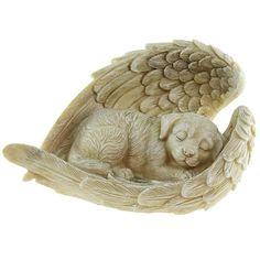 Honden Urn met Engel Vleugels (0.7 liter). Nu ook leverbaar zonder tekst op de vleugels! Prijs: € 45