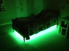 Under Bed Lighting, Chill Room, Led Diy, Bed Lights, Home Gadgets, Make Your Bed, Just Relax, Diy Bed, First Home