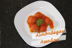 Receita rápida: Almôndegas assadas http://blogdaamiga.wordpress.com/2014/05/23/almondegas-assadas/