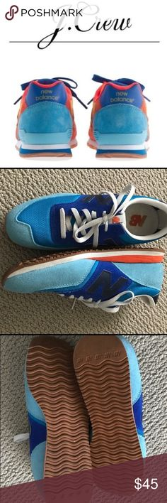 Jcrew new balance sneakers Only worn once, great condition, smoke free pet free home. I just dont wear sneakers much. J. Crew Shoes Sneakers