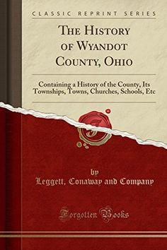 The History of Wyandot County, Ohio: Containing a History of the County, Its Townships, Towns, Churches, Schools, Etc (Classic Reprint)