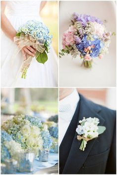 Hydrangea Wedding In