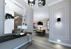 Arched Doors, Door Entryway, The Hamptons, Sweet Home, New Homes, Mirror, Interior Design, House, Furniture
