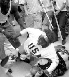 Keshia Thomas, la buena samaritana negra que salvó al racista de la muerte.
