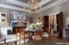 Sala de jantar decorada 119