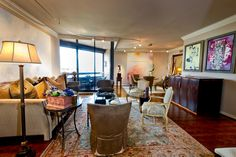 """Houston High Rise Condo"" | Houston Interior Designer and Art Furniture Design Kelly Gale Amen Art Furniture, Furniture Design, Amen, Houston, Condo, Interior Design, Nest Design, Home Interior Design, Interior Designing"