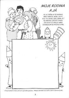 Doručené – Seznam Email Fall Preschool, Preschool Themes, Coloring Books, Coloring Pages, Grandparents Day, Kids Education, My Family, Diy For Kids, Kindergarten