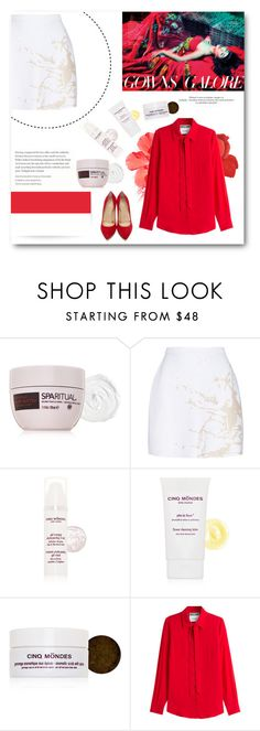 """""""Happy Independence Day Indonesia!!!"""" by miryoserra ❤ liked on Polyvore featuring SpaRitual, Zimmermann, CINQ MONDES, Moschino, Charlotte Olympia and HAPPYINDEPENDENCEDAYINDONESIA"""