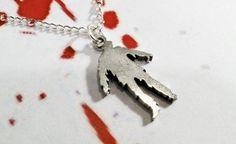 Zombie Necklace, Charm Undead Horror Halloween Walking Dead