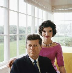 JFK Jackie and John F. Kennedy