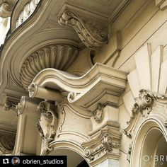 In it's all about details with artisan craftsmanship lost with time. Triangular Architecture, Rome Architecture, Neoclassical Architecture, Historical Architecture, Amazing Architecture, Architecture Details, Modern Buildings, Beautiful Buildings, Second Empire